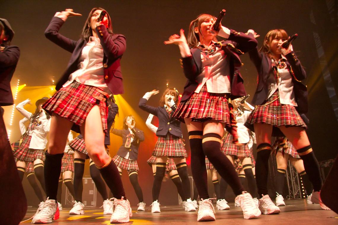 Concert des AKB48 - Tokyo (Japon)