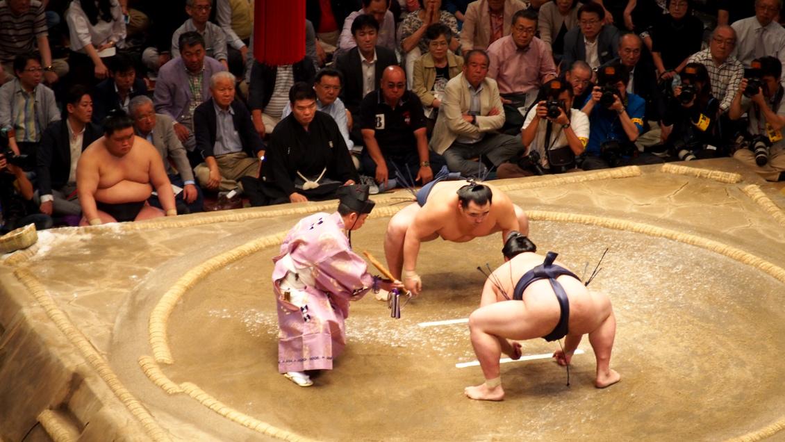 Combat de sumos - Tokyo (Japon)