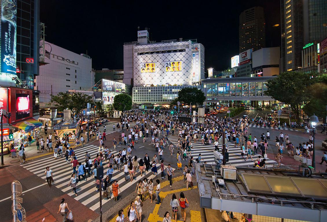 Shibuya crossing - Tokyo (Japon)