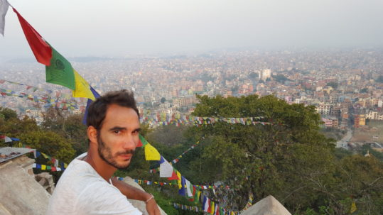 Vue de Katmandu - Nepal