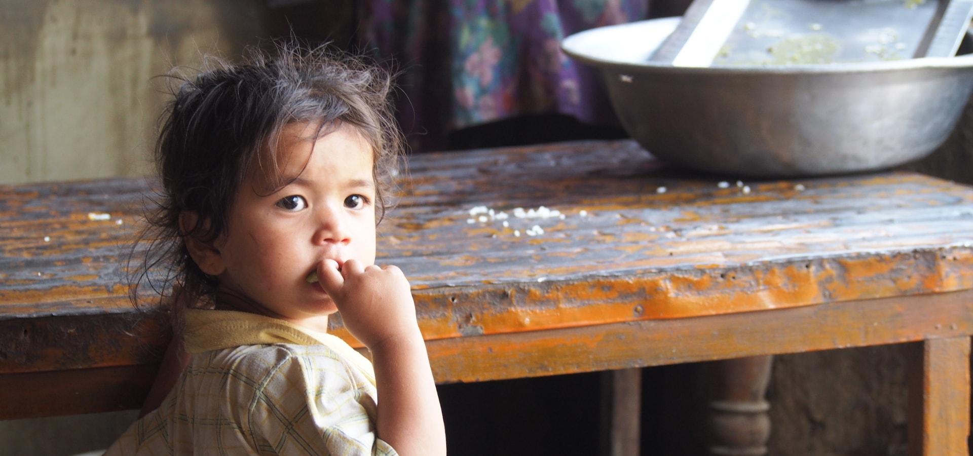 Regard d'enfant Nepal – Page accueil