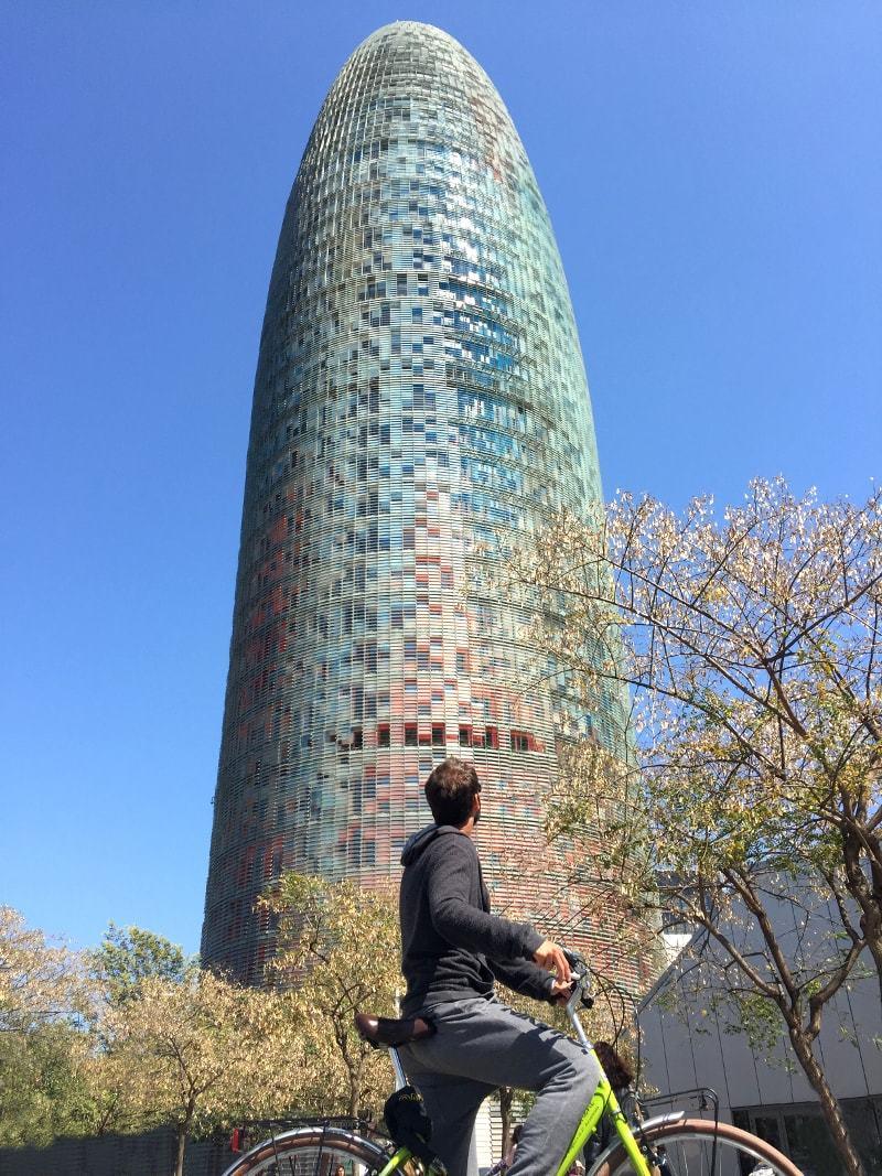 La Torre Agbar de Barcelone