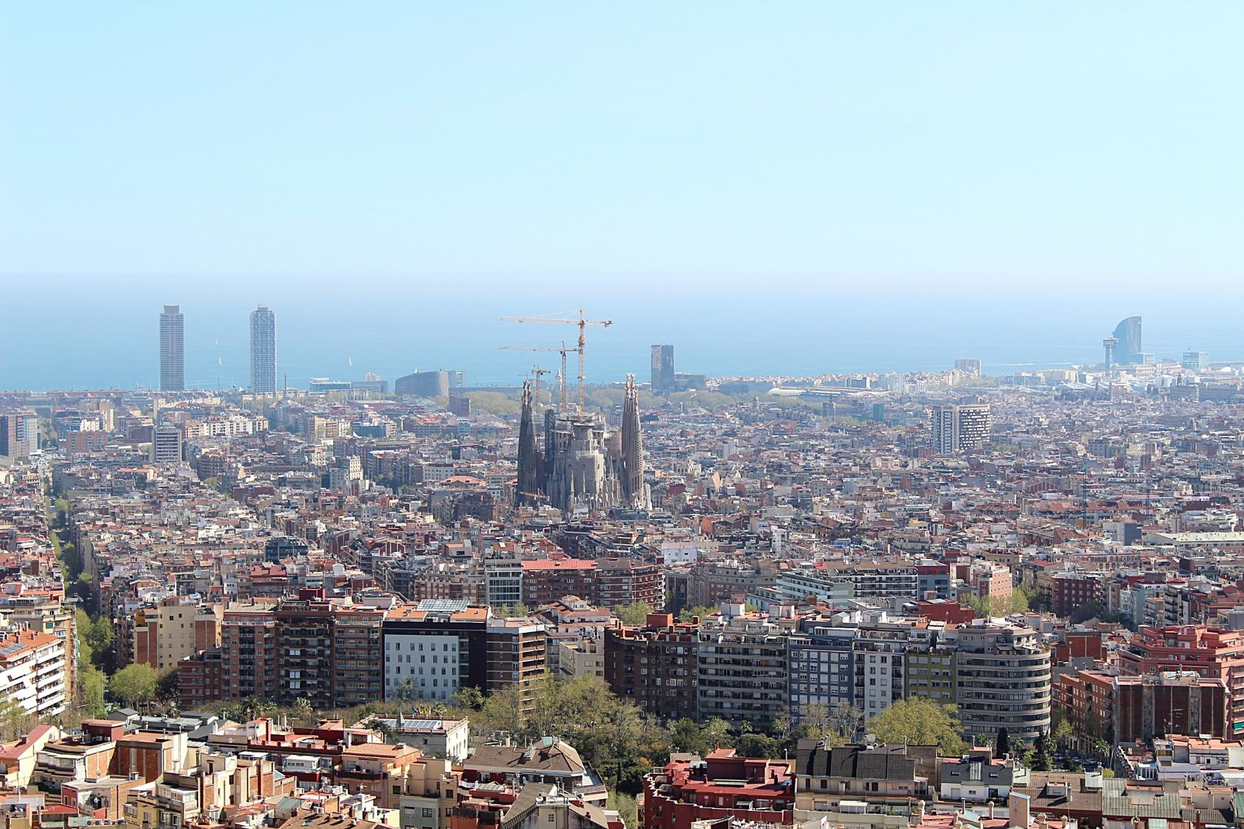 clichés de Barcelone