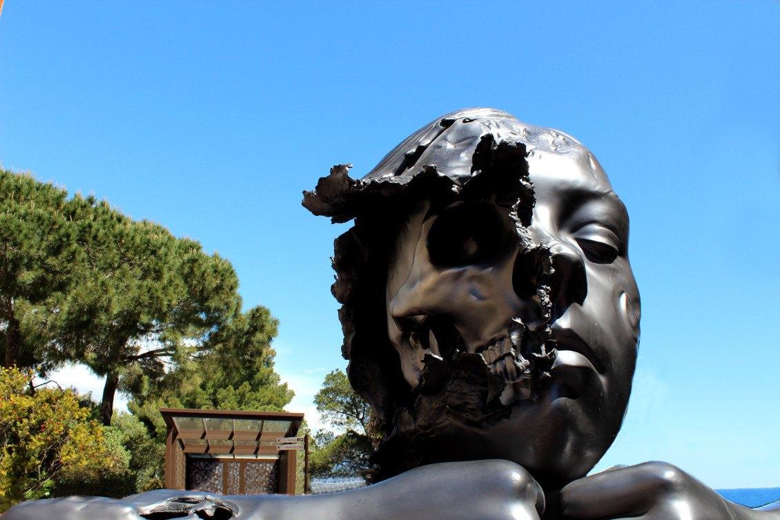 Statue à Monaco