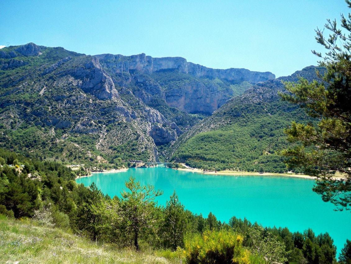 Les gorges du Verdon en France