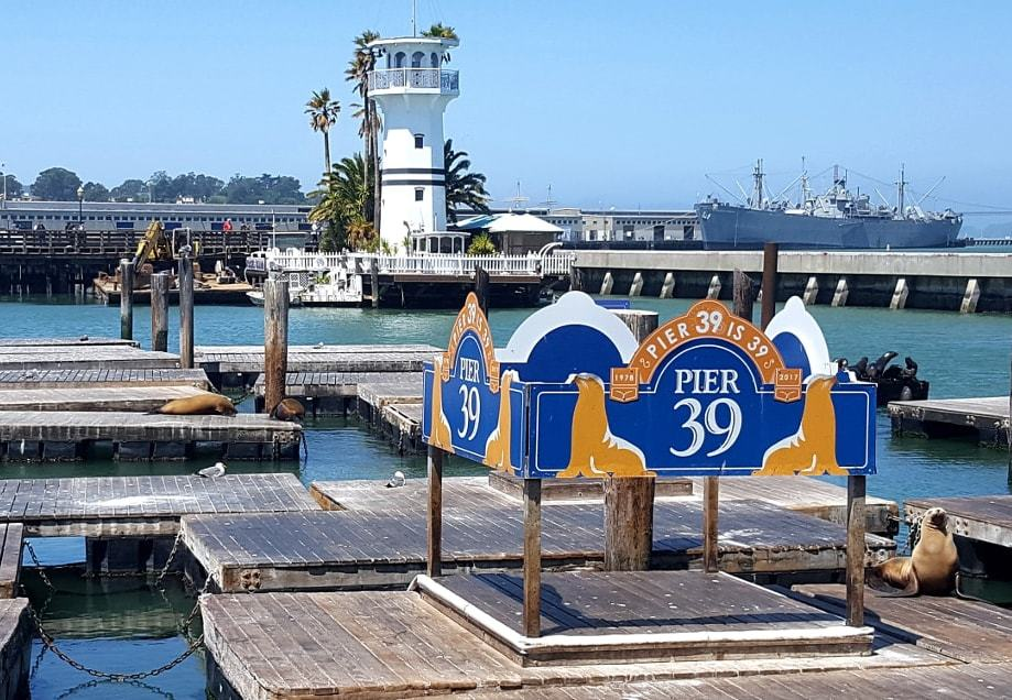 Pier39 dans Fisherman Wharf_SanFrancisco Californie