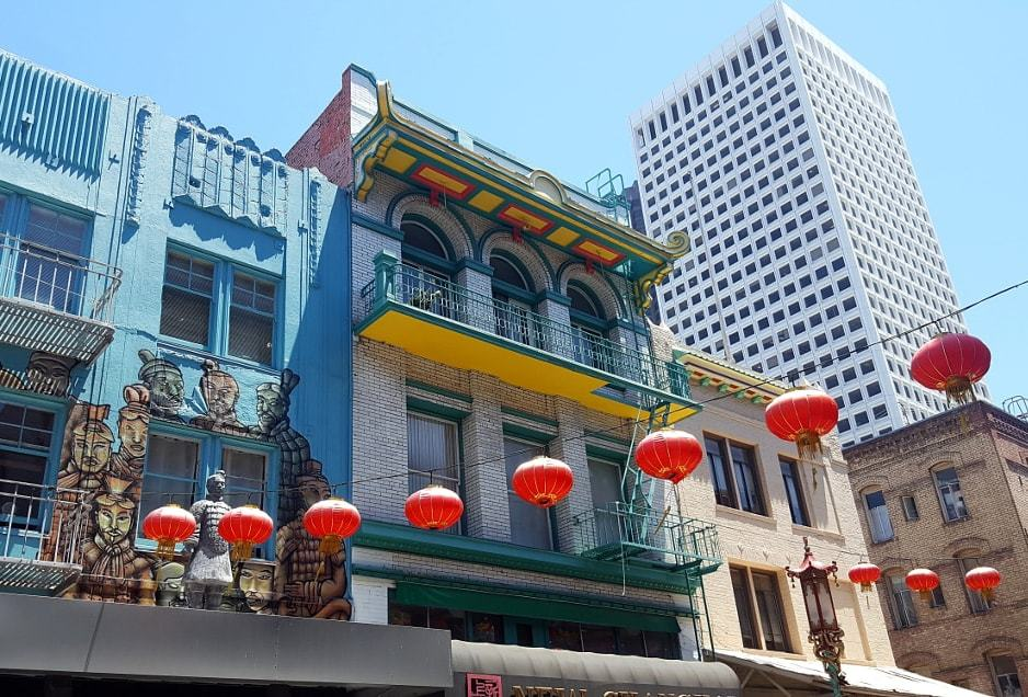 Quartier chinois de San Francisco