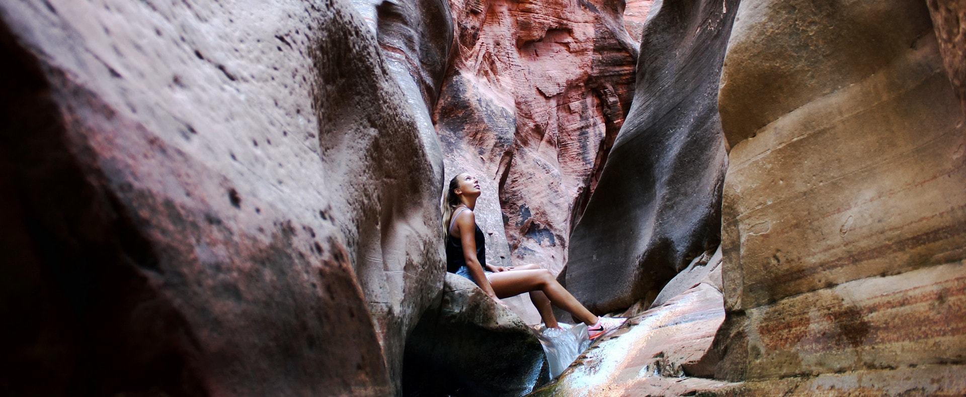 Kanaracreek canyon aux USA – Page d'accueil