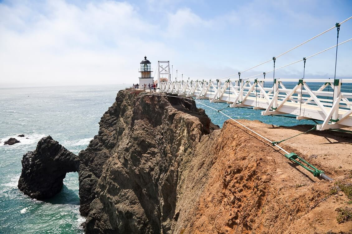 Point Bonita - meilleurs points de vue pour observer le Golden gate Bridge