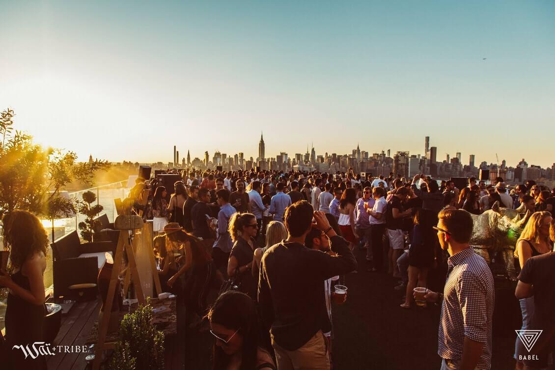 New York comme un New Yorkais- Babel party Brooklyn