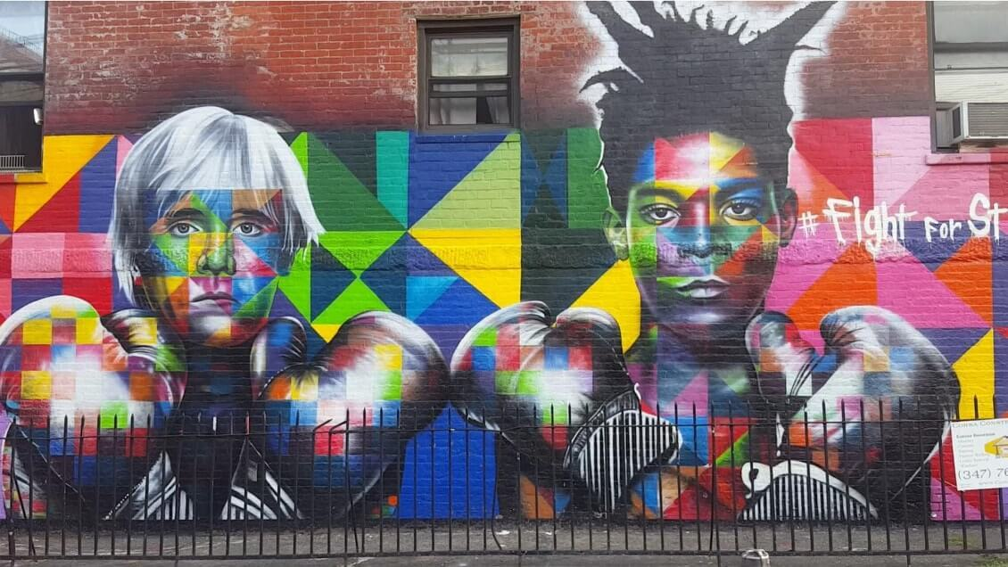New York comme un New Yorkais - Williamsburg street art