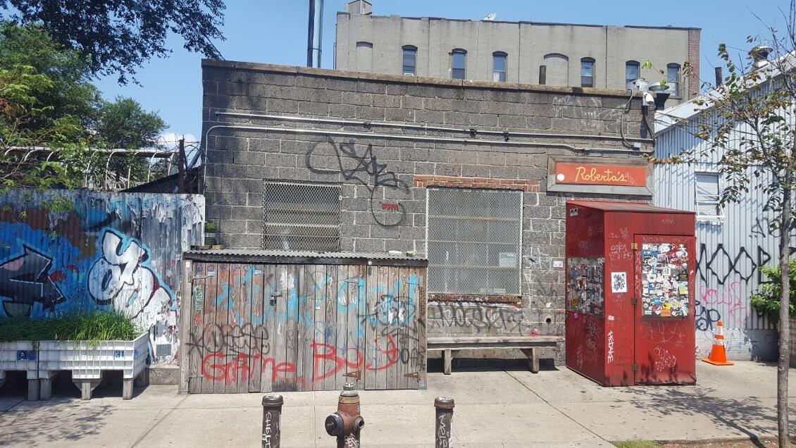 New York comme un New Yorkais - pizzeria Roberta Brooklyn