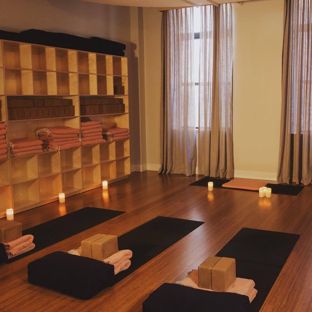 New York comme un new Yorkais - Salle de yoga chez Yoga Vida
