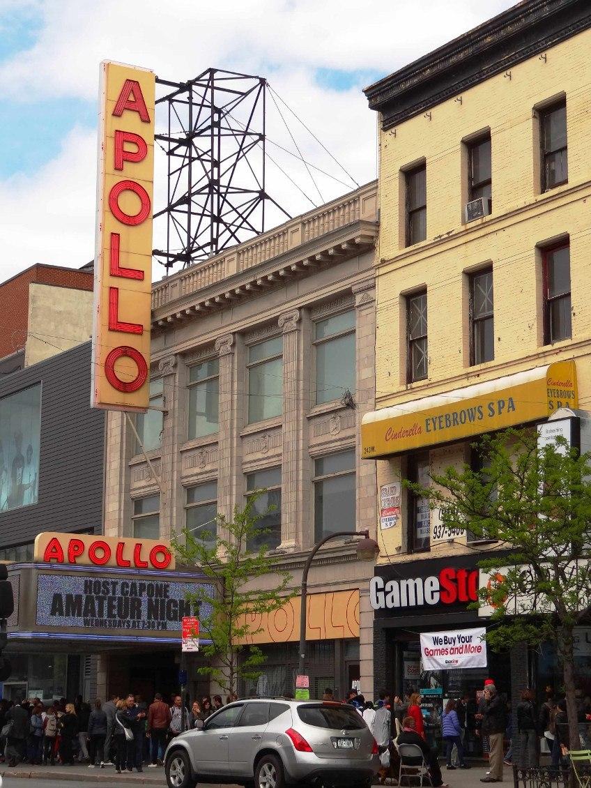 New York comme un New-Yorkais- Apollo theatre Harlem