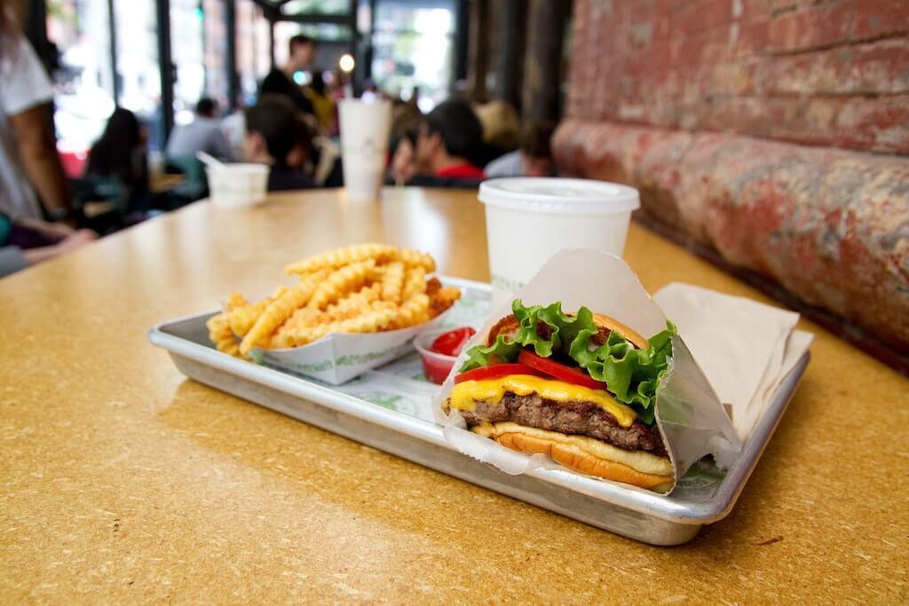 Manger original a NewYork au Shake Shack