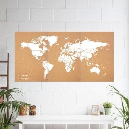 cadeaux-pour-voyageurs-carte-liege-murale