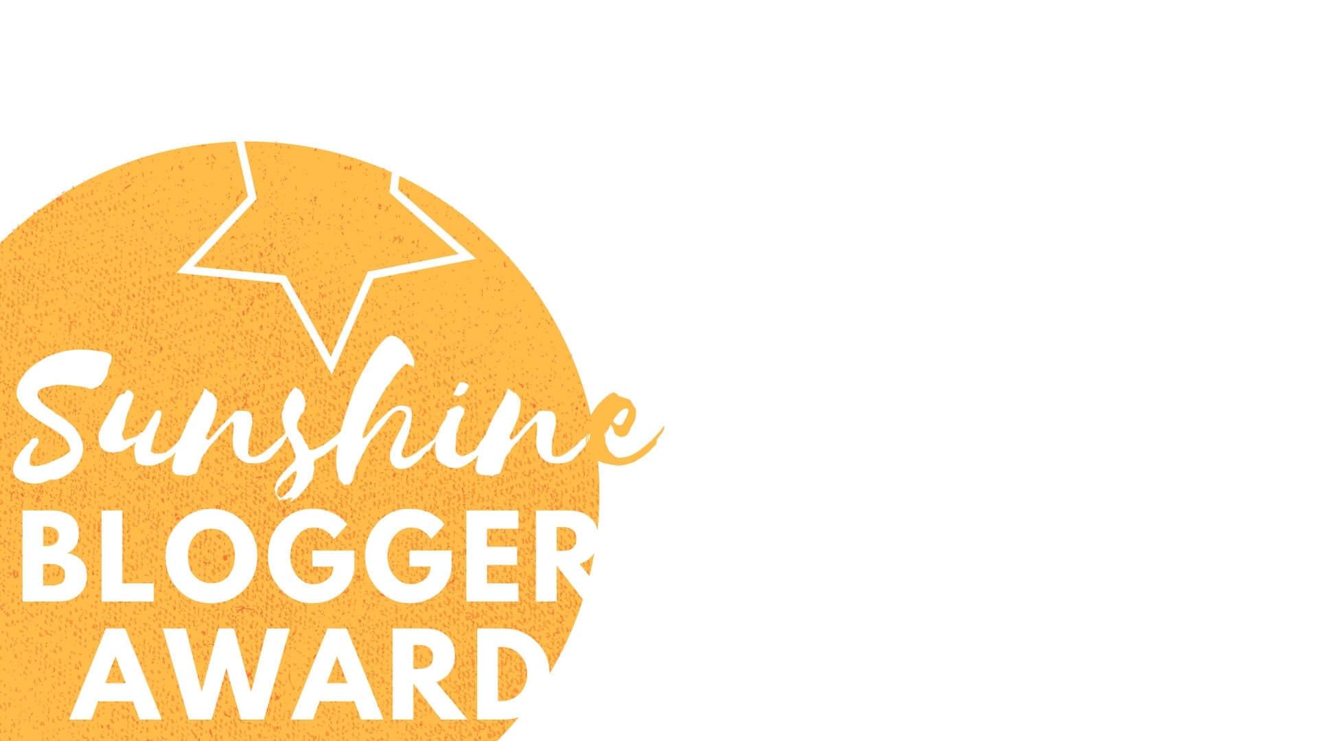 Sunshine Blog Award - nos réponses