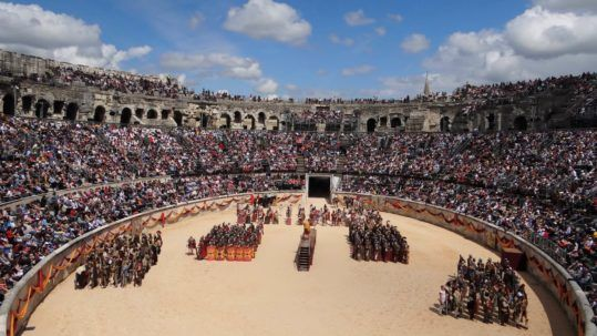 Grands jeux romains de Nîmes