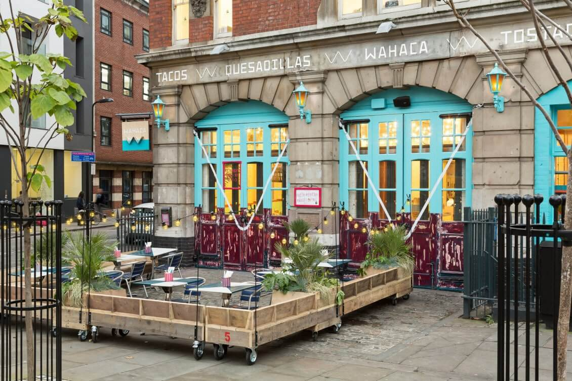 Londres restaurants a ne pas manquer en allant manger au Wahaca