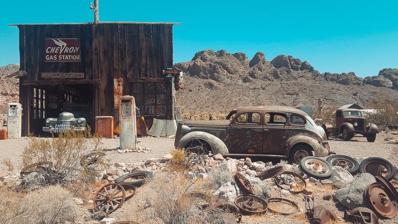 Canyons-autour-de-Las-Vegas-el-dorado-canyon