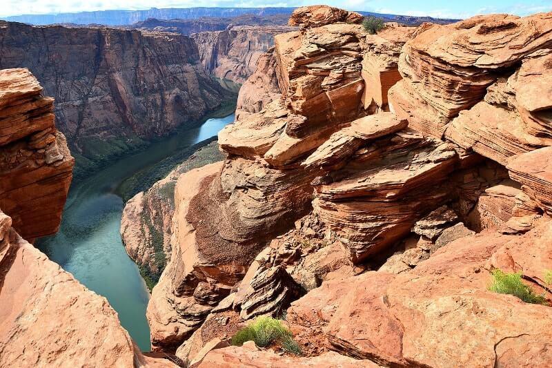 Canyons-autour-de-Las-Vegas-horseshoe-bend