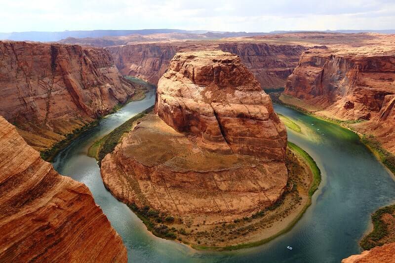 Canyons-autour-de-Las-Vegas-horseshoe-bend-photo