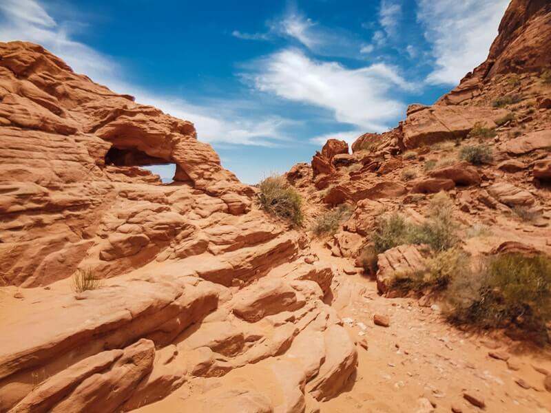 Canyons-autour-de-Las-Vegas-valley-of-fire