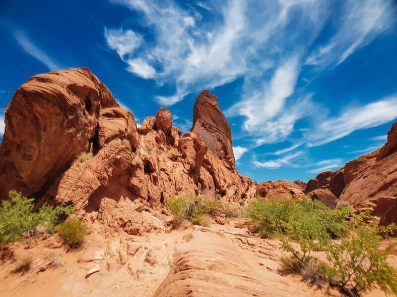 Canyons-autour-de-Las-Vegas-valley-of-fire-randonnee