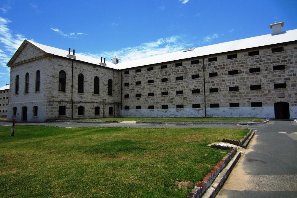 Dormir dans la prison de Fremantle