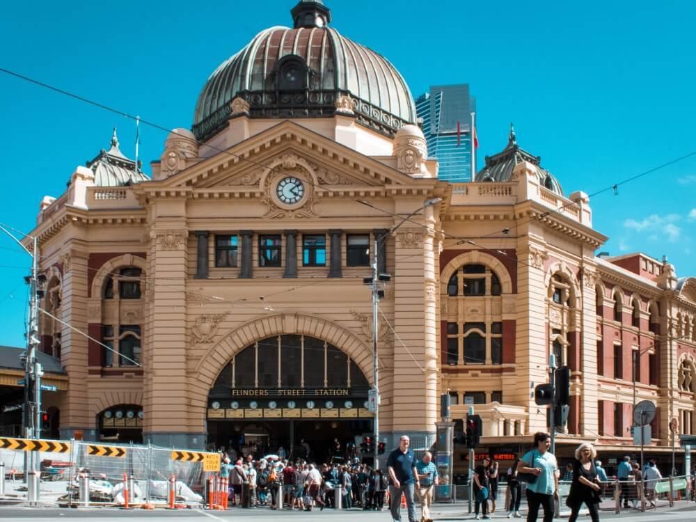 Visiter Melbourne : gare_de_flinder_street