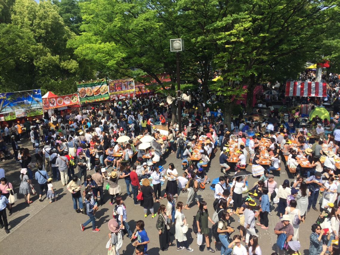 Festival Thai au Yoyogi park - Tokyo (Japon)