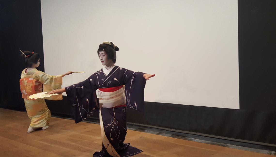 Spectacle de Geisha à Asakusa - Tokyo (Japon)
