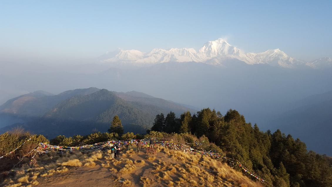 Magnifique vue des Annapurnas - PoonHill (Nepal)