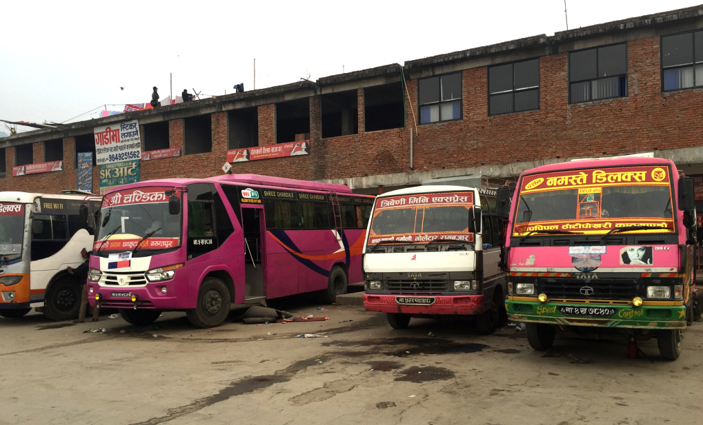 Station de bus - Katmandu (Nepal)R