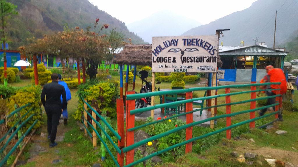 Village-etape - Tour des Annapurnas (Nepal)
