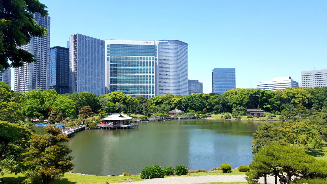 Jardin Amarikyiu - Tokyo (Japon)