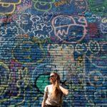 Street art dans le quartier Poblenou à Barcelone