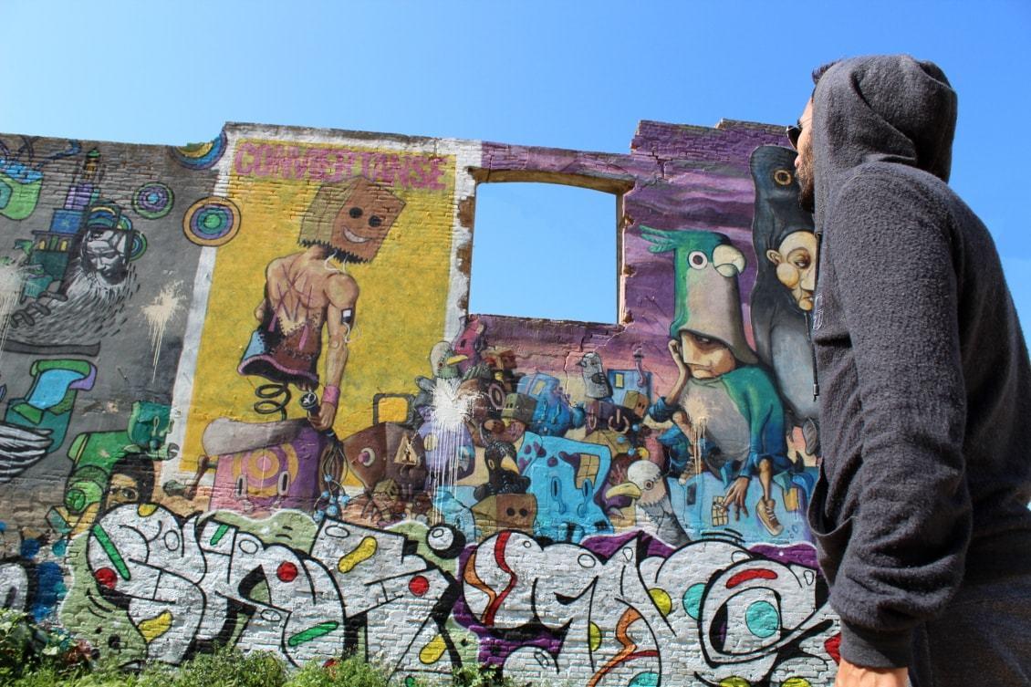 Street art dans le Poblenou, quartier insolite (Barcelone)