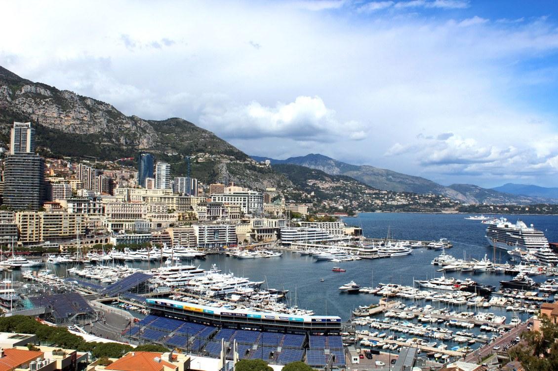 Monaco et son port Hercule