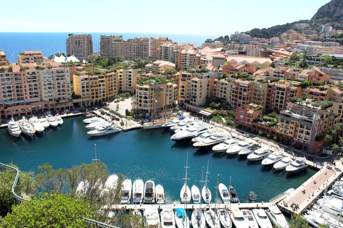 Port de Fontvieille à Monaco