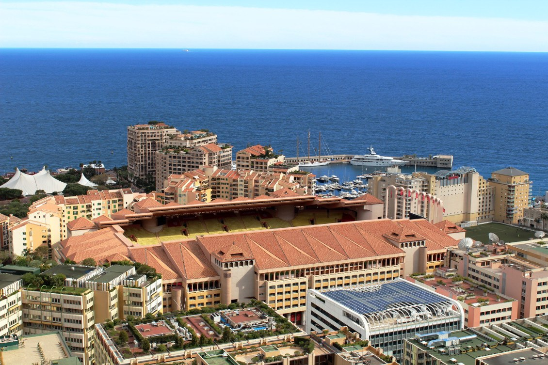 Monaco et son stade Louis II
