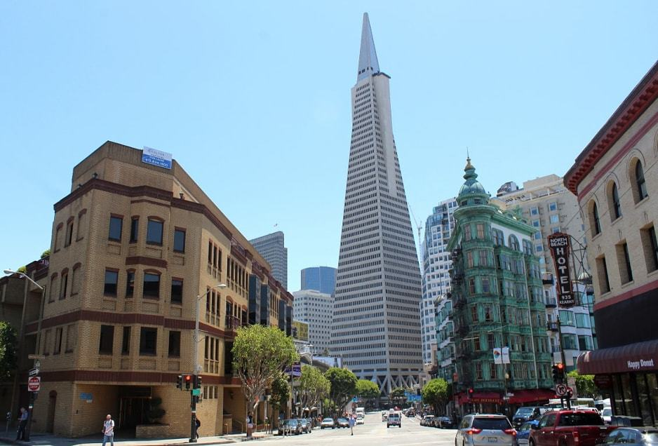 Financial district dans San Francisco_Californie
