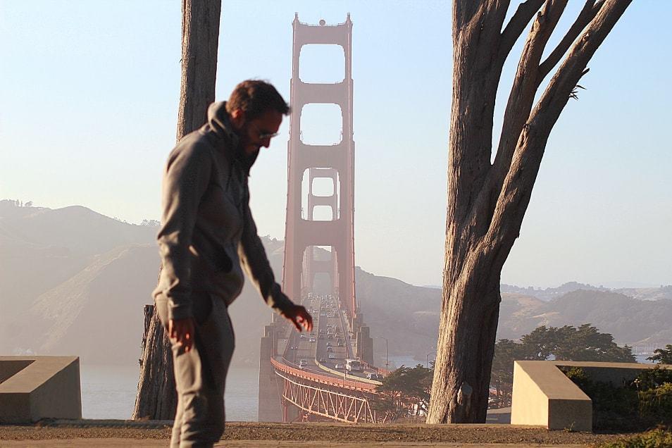 Golden gate bridge à San Francisco_Californie