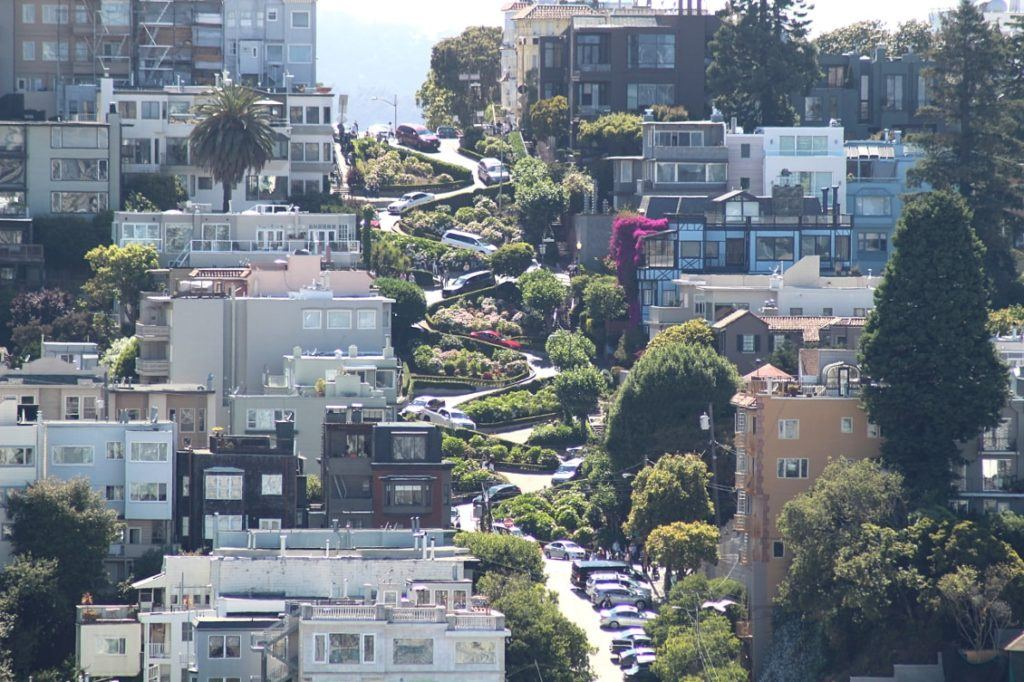 Lombard street à San Francisco_Californie