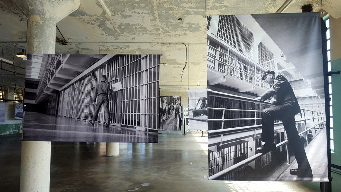 Prison Alcatraz à San Francisco_Californie