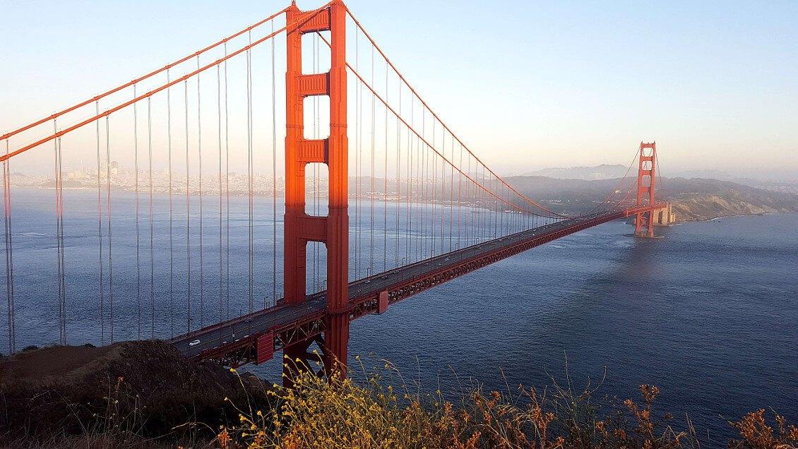 Meilleurs points du vues pour observer le golden gate bridge - depuis Battery Spencer