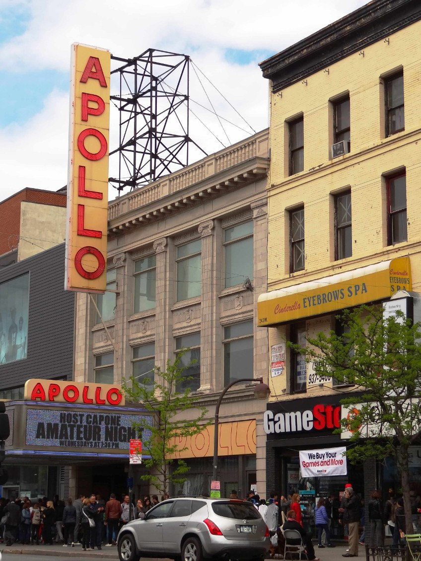New York comme un New-Yorkais- Apollo theatre Harlem