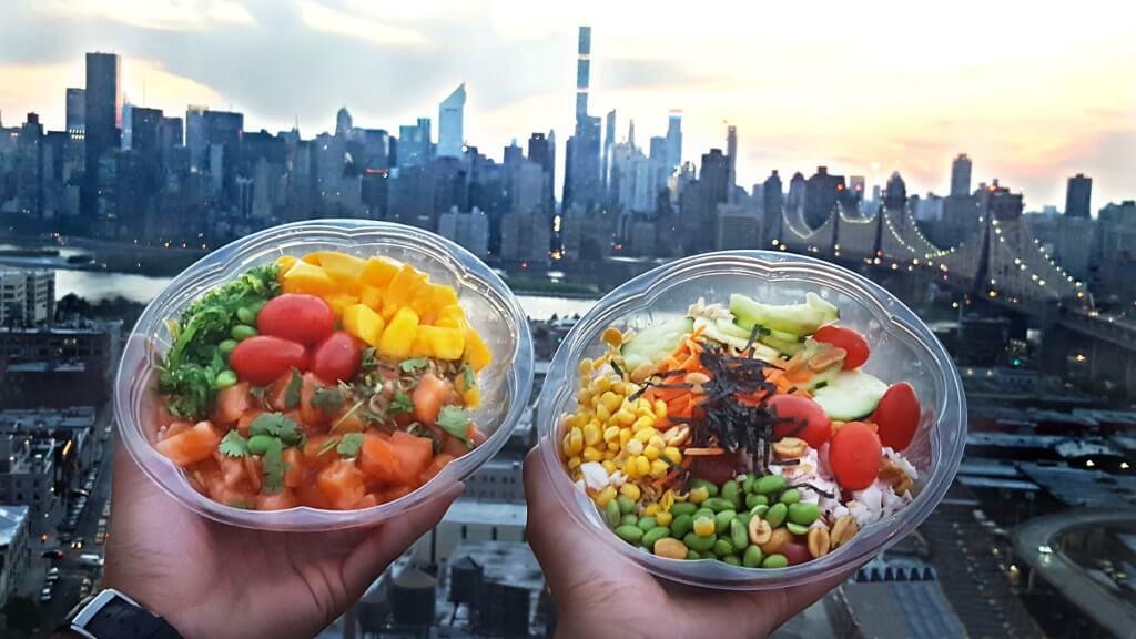 Manger original a NewYork-poke bowl