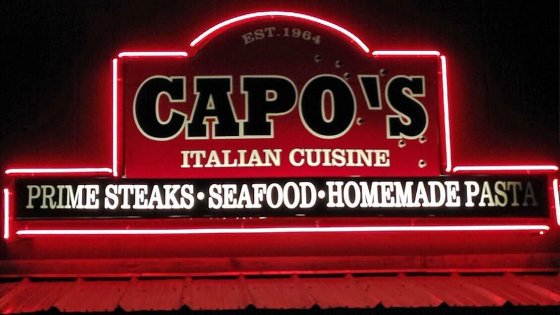 Las Vegas insolite restaurant Al capone