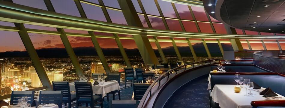 Las Vegas insolite - manger en haut de la Stratosphère